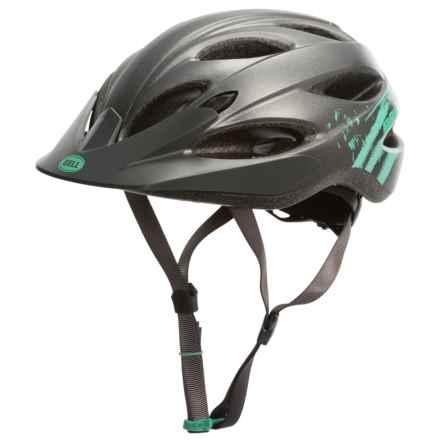 Bell Strut Bike Helmet (For Women) in Matte Gunmetal Mint Sonic - Closeouts