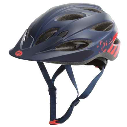 Bell Strut Bike Helmet (For Women) in Matte Midnight/Infrared Sonic - Closeouts