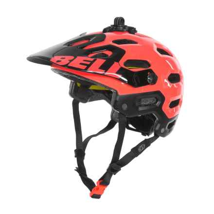 Bell Super 2 MIPS-Equipped Mountain Bike Helmet (For Men and Women) in Infrared - Closeouts