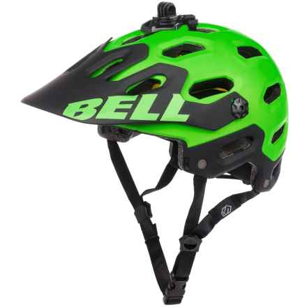 Bell Super 2 MIPS-Equipped Mountain Bike Helmet (For Men and Women) in Matte Kryptonite - Closeouts