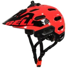 Bell Super 2 Mountain Bike Helmet (For Men and Women) in Infrared - Closeouts
