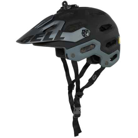 Bell Super 2 Mountain Bike Helmet (For Men and Women) in Matte Black - Closeouts
