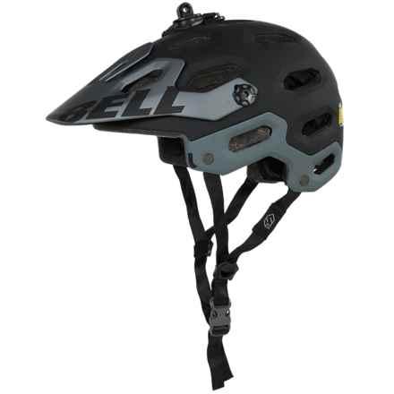 Bell Super 2 Mountain Bike Helmet (For Men and Women) in Matte Black - Closeouts