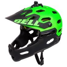 Bell Super 2R MIPS Mountain Bike Helmet (For Men and Women) in Matte Kryptonite - Closeouts