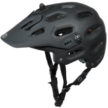 Bell Super All-Mountain Bike Helmet in Matte Black - Closeouts