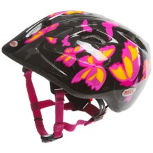 Bell Tater Bike Helmet (For Kids and Youth) in Black/Pink Butterfly - Closeouts