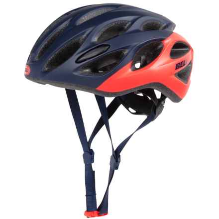 Bell Tempo Bike Helmet (For Women) in Matte Midnight/Infrared Repose - Closeouts
