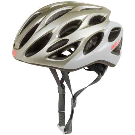 Bell Tempo Bike Helmet (For Women) in Matte Platinum/White Repose - Closeouts