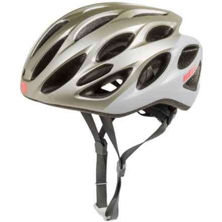 Bell Tempo Bike Helmet (For Women) in Matte Platinum/White Repose - Closeouts