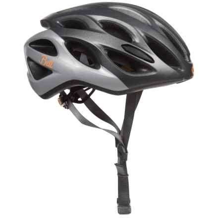 Bell Tempo Joy Ride Bike Helmet (For Women) in Matte Gunmetal/Silver/Tang - Closeouts