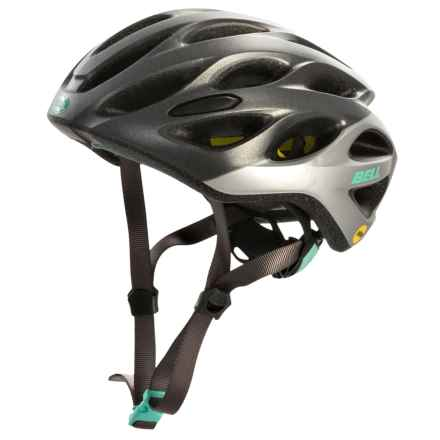 Bell Tempo MIPS Bike Helmet (For Women) in Matte Gunmetal/Grey Repose - Closeouts