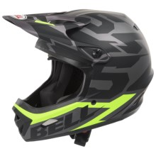 Bell Transfer-9 Full Face Mountain Bike Helmet (For Men and Women) in Graphite 54 - Closeouts
