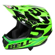 Bell Transfer-9 Full Face Mountain Bike Helmet (For Men and Women) in Green 54 - Closeouts