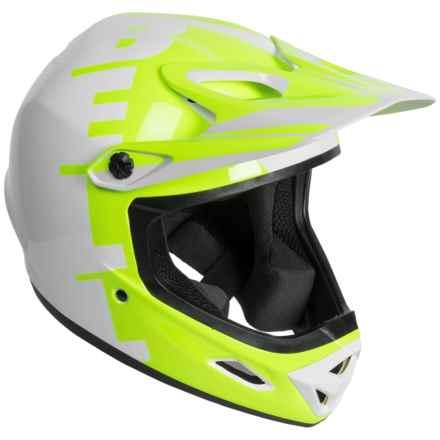 Bell Transfer-9 Full Face Mountain Bike Helmet (For Men and Women) in Retina Sear Yin Yang - Closeouts