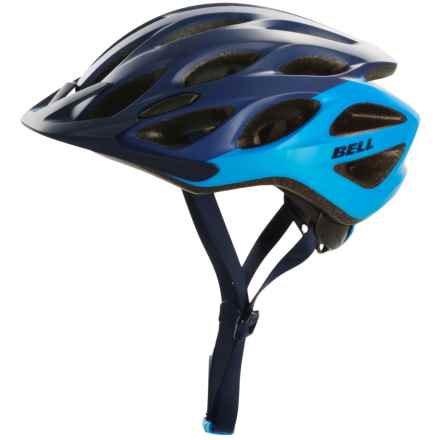 Bell Traverse Bike Helmet (For Men and Women) in Matte Midnight/Tahoe Repose - Closeouts