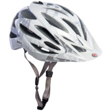 BELL VARIANT CYCLING HELMET (For Men and Women) in White/Silver Shattered - Closeouts