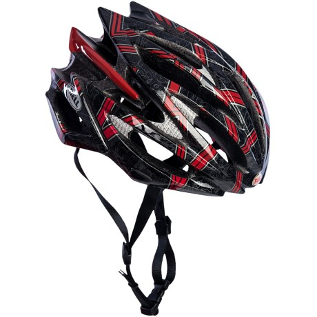 Bell Volt Bike Helmet in Black/Red Rocker