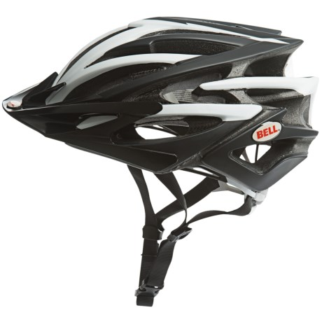 Bell Volt Bike Helmet in Matte Black/White