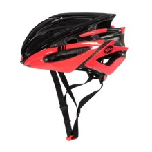 Bell Volt RL Road Bike Helmet (For Men and Women) in Black/Infrared Hero - Closeouts