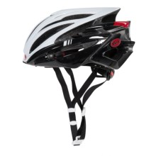 Bell Volt RL Road Bike Helmet (For Men and Women) in White/Black/Red Hero - Closeouts