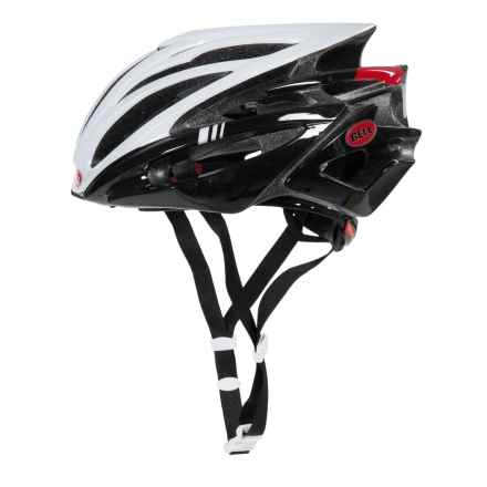 Bell Volt RLX Road Bike Helmet (For Men and Women) in White/Black/Red Hero - Closeouts
