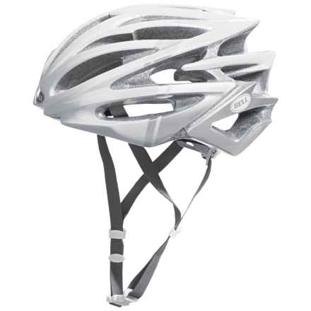 Bell Volt RLX Road Bike Helmet (For Men and Women) in White Flash - Closeouts