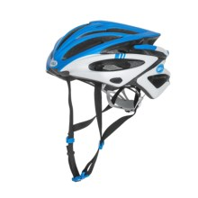 Bell Volt XC Bike Helmet (For Men and Women) in Matte Blue/Green Hero - Closeouts