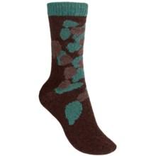 b.ella Alice Crew Socks - Wool, Lightweight (For Women) in Espresso - Closeouts