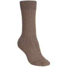 b.ella Armesa Socks - Merino Wool Blend, Crew (For Women) in Khaki - Closeouts