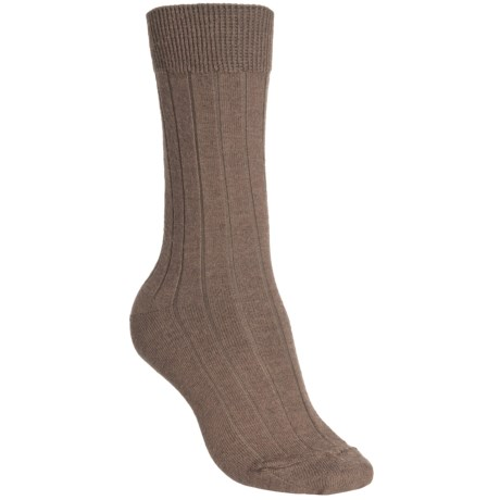 b.ella Armesa Socks - Merino Wool Blend, Crew (For Women) in Khaki