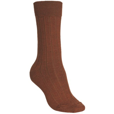 b.ella Armesa Socks - Merino Wool Blend, Crew (For Women) in Russet