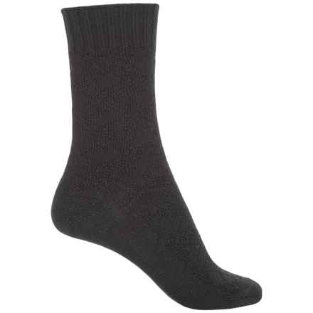 b.ella Chloe Socks - Merino Wool, Crew (For Women) in Caviar - Closeouts