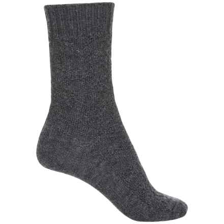 b.ella Chloe Socks - Merino Wool, Crew (For Women) in Charcoal - Closeouts