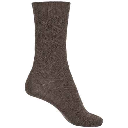 b.ella Chloe Socks - Merino Wool, Crew (For Women) in Taupe - Closeouts