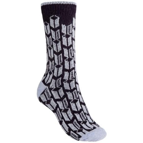 b.ella Dana Metro Crew Socks (For Women) in Plum