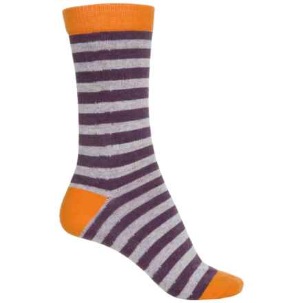 b.ella Daria Socks - Crew (For Women) in Orange - Closeouts