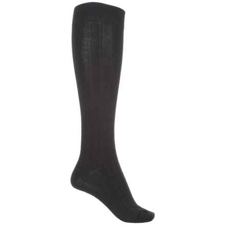 b.ella Desi Knee-High Socks - Merino Wool, Over the Calf (For Women) in Caviar - Closeouts