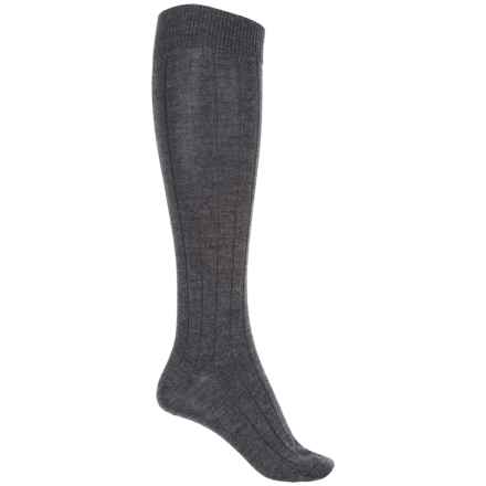 b.ella Desi Knee-High Socks - Merino Wool, Over the Calf (For Women) in Charcoal - Closeouts