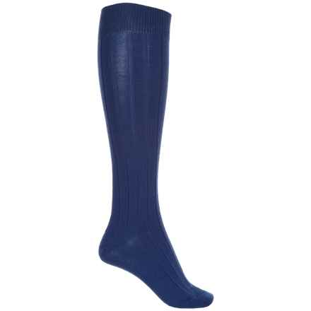 b.ella Desi Knee-High Socks - Merino Wool, Over the Calf (For Women) in Denim - Closeouts