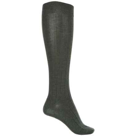 b.ella Desi Knee-High Socks - Merino Wool, Over the Calf (For Women) in Evergreen - Closeouts
