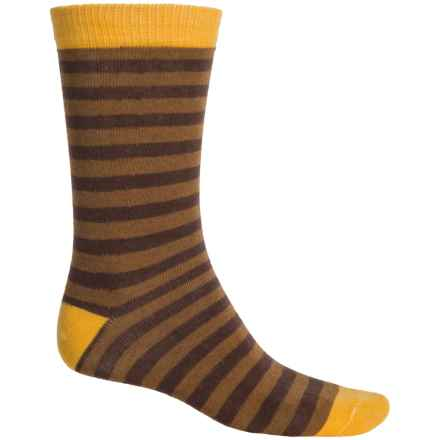 b.ella Edmond Socks - Crew (For Men) in Sunshine - Closeouts