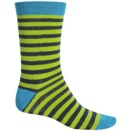 b.ella Edmond Socks - Crew (For Men) in Turquoise - Closeouts