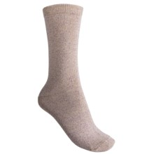 b.ella Faye Speckled Jersey Crew Socks (For Women) in Lilac - Closeouts
