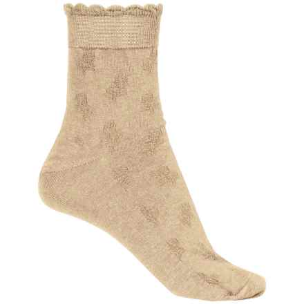 b.ella Fleur Socks - Ankle (For Women) in Khaki - Closeouts
