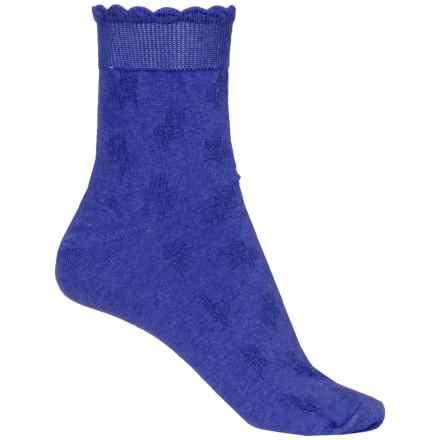 b.ella Fleur Socks - Ankle (For Women) in Royal - Closeouts