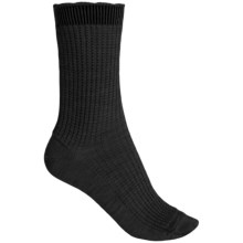 b.ella Janet Merino Wool Socks - Crew (For Women) in Caviar - Closeouts