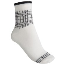 b.ella Jerica Ankle Socks - Quarter-Crew (For Women) in White - Closeouts