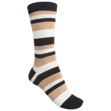 b.ella June Socks - Crew (For Women) in Caviar - Closeouts