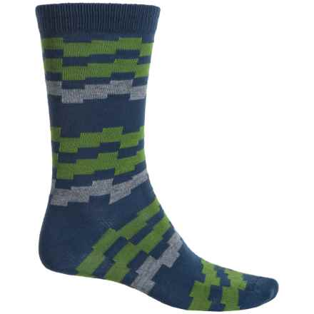 b.ella Kenny Socks - Crew (For Men) in Navy - Closeouts