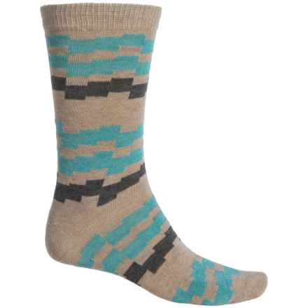 b.ella Kenny Socks - Crew (For Men) in Taupe - Closeouts